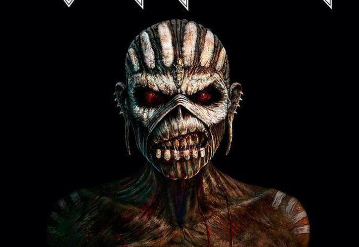 Esta es la portada del nuevo disco de la banda de rock Iron Maiden. (IronMaiden.com)