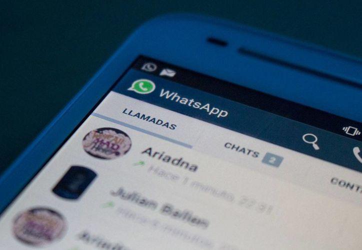 WhatsApp está probando una evolución de la app que permitirá al usuario que añada fotos y vídeos de perfil. (Archivo/Agencias)