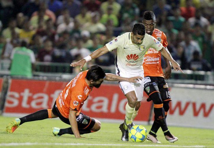Chiapas dio otro golpe de autoridad en casa y en esta ocasión venció por 2-0 al América. (Notimex)