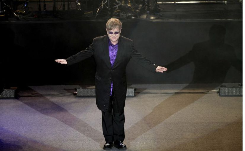 Elton John terminará su gira de Nueva Zelanda. (Foto: Agencia Reforma)