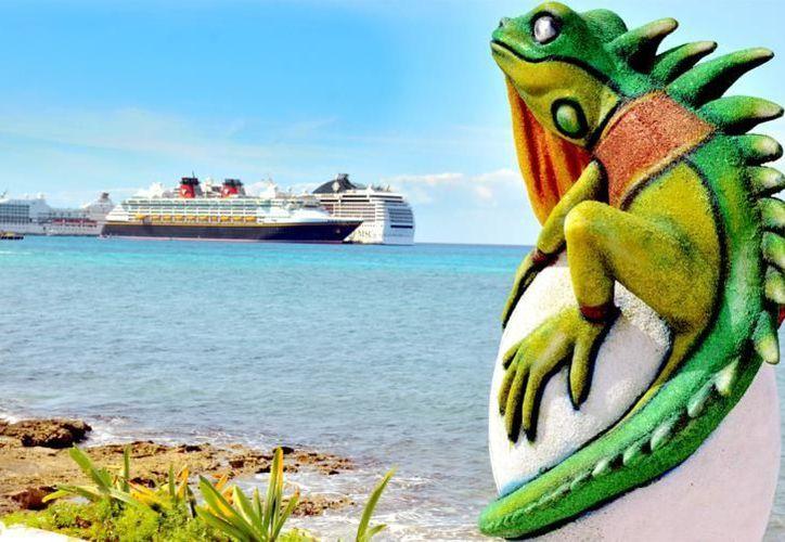 Los adornos hacen alusión a la fauna de la isla de Cozumel. (Cortesía/SIPSE)