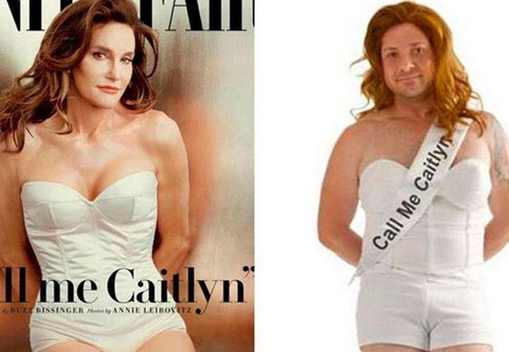 Un sitio de venta de disfraces en internet puso a la venta un atuendo ue semeja la vestimenta con la que el excampeón olímpico Bruce Jenner dio a conocer su nueva identidad.