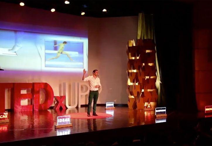 Rommel Pahceco fue uno de los ponentes de la segunda edición del TEDxUPP. (Foto: Facebook TEDxUPP).