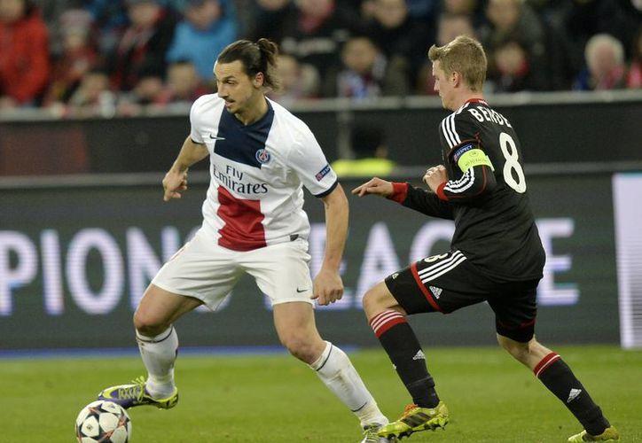 Ibrahimovic fue uno de los artífices en la goleada del PSG, gracias a sus dos dianas en el primer tiempo. (Agencias)