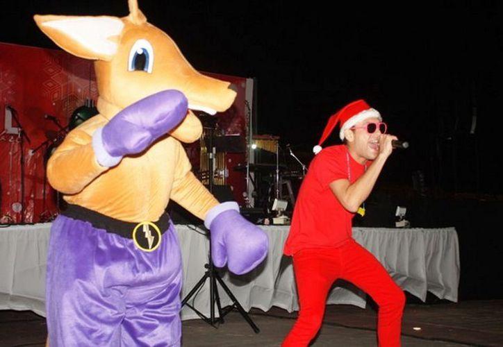 Con un concierto navideño inició  el programa 'Motul en Diciembre'. (Cortesía)