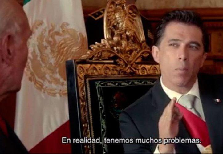 Según el director de la película <i>La dictadura perfecta</i>, Luis Estrada, el filme tiene una crítica directa al sistema mexicano, sin censura de ninguna clase. (Captura de pantalla/YouTube-La Dictadura Perfecta)