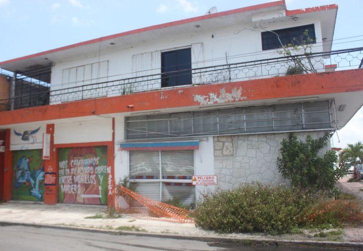 Olvidada la zona centro de Chetumal. (Fuente: SIPSE)
