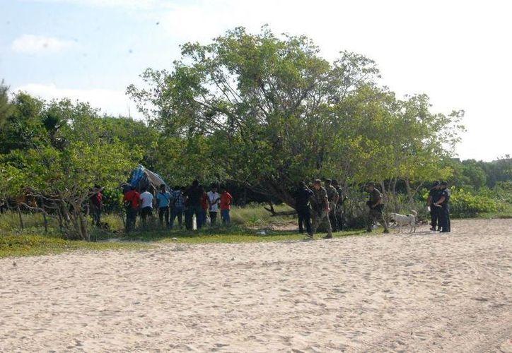 Los cuerpos hallados en Punta Esmeralda permanecen en calidad de desconocidos. (Redacción/SIPSE)