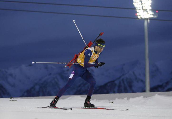 El noruego Einar Bjoerndalen se hizo del oro en los 10 kilómetros sprint y llegó a 13 medallas en su carrera en Juegos Olímpicos invernales. (Agencias)