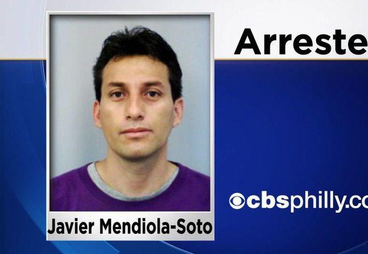 Javier Mendiola Soto, de 38 años, era estudiante de posgrado en la Universidad de Delaware. (philadelphia.cbslocal.com)