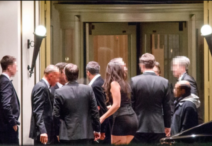 Acceso a la gala en el lujoso Hotel Dorchester de Londres. (Foto: Reuters)