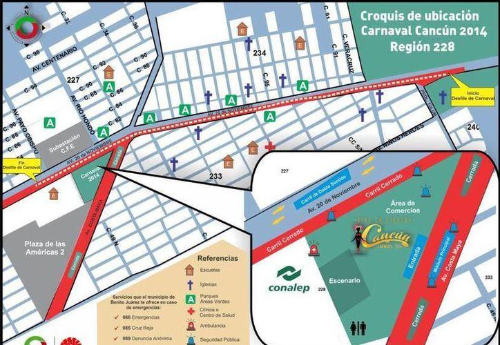 Realizan junta de logística y vestuarios para el Carnaval de Cancún. (Cortesía/SIPSE)