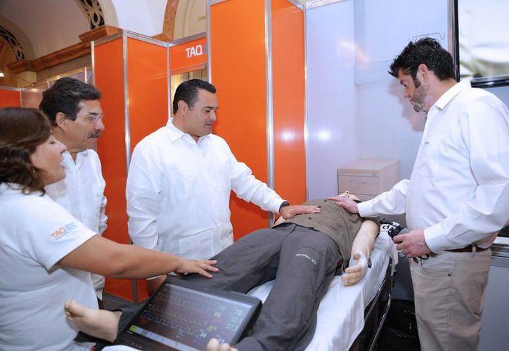La Reunión Nacional de la Asociación Mexicana de Facultades y Escuelas de Medicina se realiza en la Universidad Anáhuac Mayab. (SIPSE)