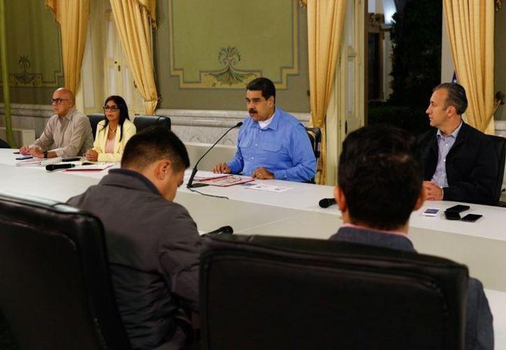 Nicolás Maduro dio la noticia durante un programa de cadena nacional. (vanguardia.com)