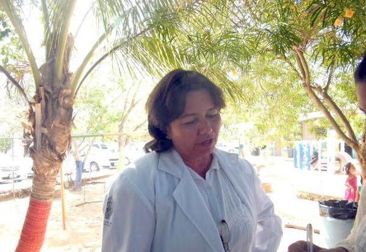 La doctora Diana Ruiz Domínguez. (Milenio)