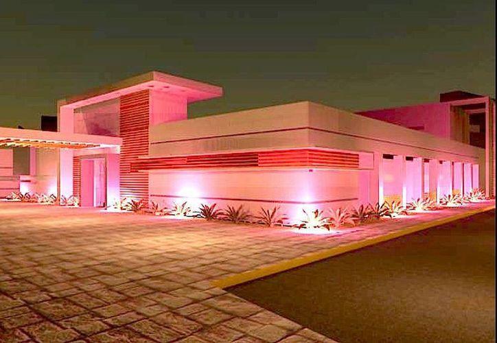El Hospital General de Cancún se construye en una superficie de 42 mil metros cuadrados. (Cortesía/SIPSE)