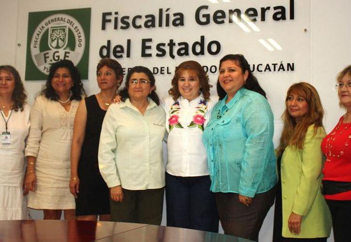 Rivas Rodríguez agradeció el respaldo de las abogadas de Amprodey y dijo que apoyará la atención de asuntos pendientes de los litigantes. (Cortesía)