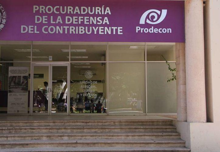 Ayer fueron inauguradas las instalaciones de la Procuraduría de la Defensa del Contribuyente. (José Acosta/SIPSE)