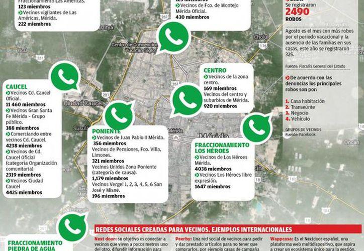 En Mérida ya hay 500 comités de Policía Vecinal, conformados con apoyo de la Secretaría de Seguridad Pública. (SIPSE)