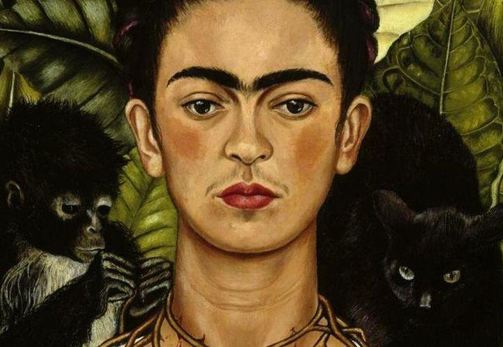 La colección virtual de la pintora se compone por más de 800 piezas. (Internet)