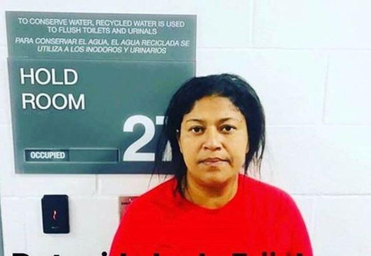 Miriam Celaya, la hondureña que se viralizó tras quejarse de los frijoles mexicanos, fue detenida en Estados Unidos. (Instagram)