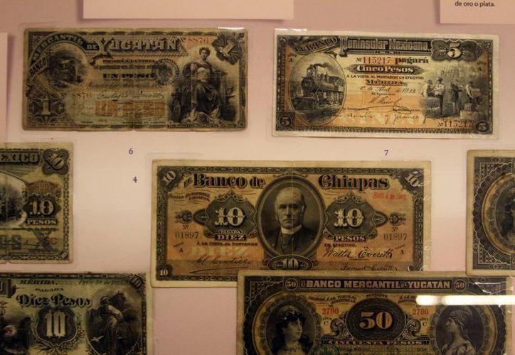 La exposición 'Moneda e Historia. Historia Numismática de México' se exhibe en Mérida. Imagen de contexto. (Milenio Novedades)