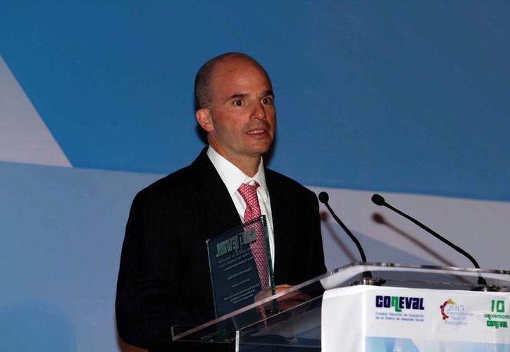 José Antonio González Anaya, director de Pemex, institución que recibirá varios créditos para pagar a sus proveedores. (Notimex/archivo)