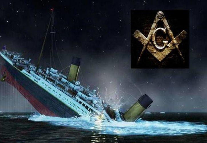 El Titanic se hundió en el Océano Atlántico en la noche entre el 14 y el 15 de abril de 1912. Una investigación sugiere que masones influyeron en la investigación de las causas del naufragio. (Especial)