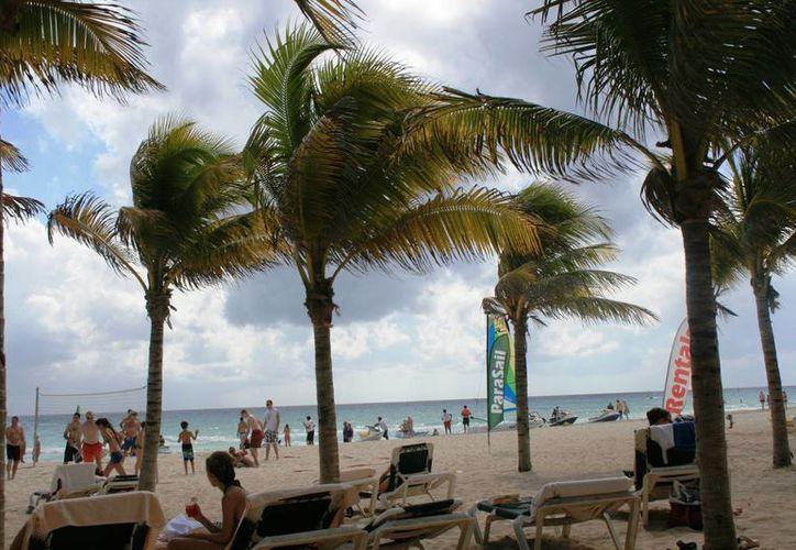 Las condiciones climatológicas han mejorado para el turismo. (Rossy López/SIPSE)