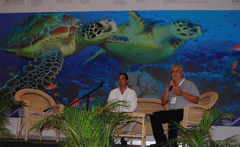 Cancún fue el destino elegido de México para celebrar el 'Encuentro Internacional de Operadores de la Certificación Blue Flag 2013'. (Tomás Álvarez/SIPSE)