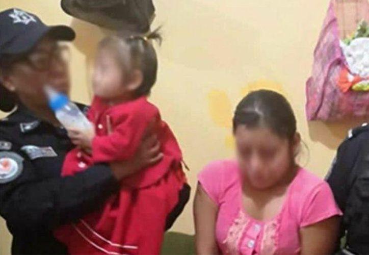 La FGE de Guerrero detuvo a la madre de una menor que aparece violentada en un video. (Foto: Excélsior)