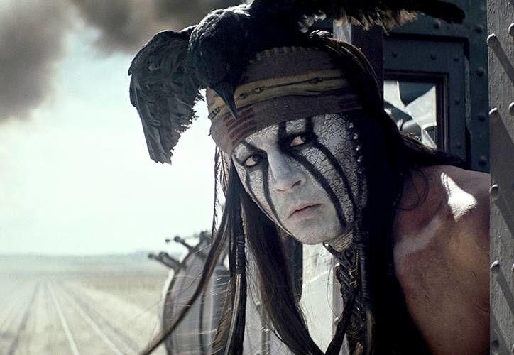 El actor caracterizado como Tonto (Toro en español). (salon.com)