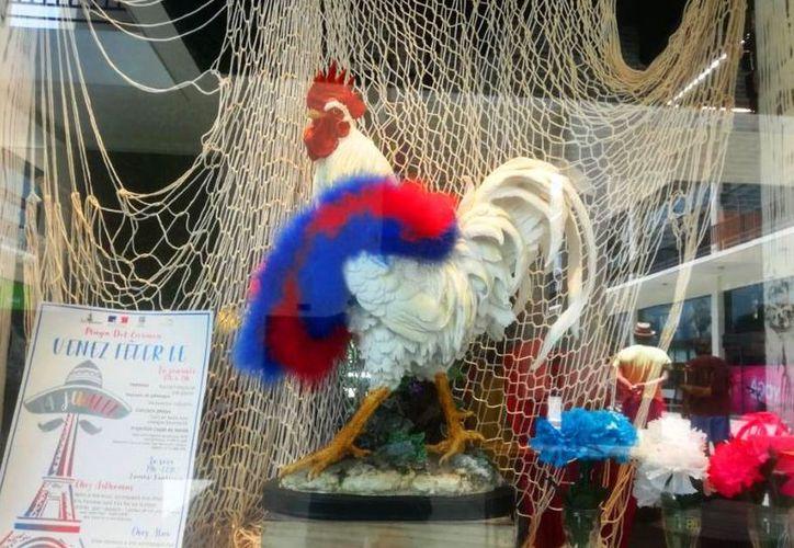 Se visten de gala franceses en Caribe Mexicano. (SIPSE)