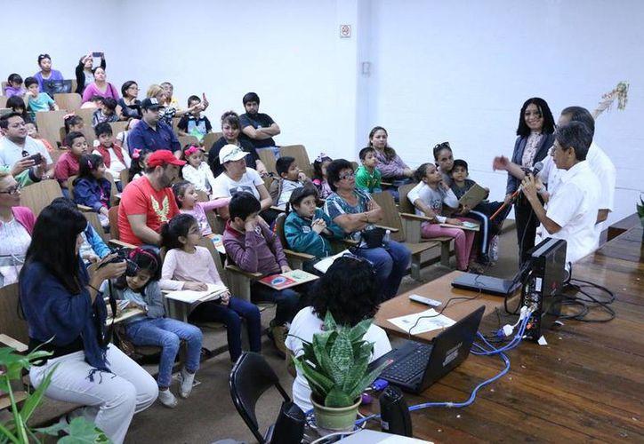 El proyecto está dirigido a los alumnos de educación básica. (José Acosta/ Milenio Novedades)