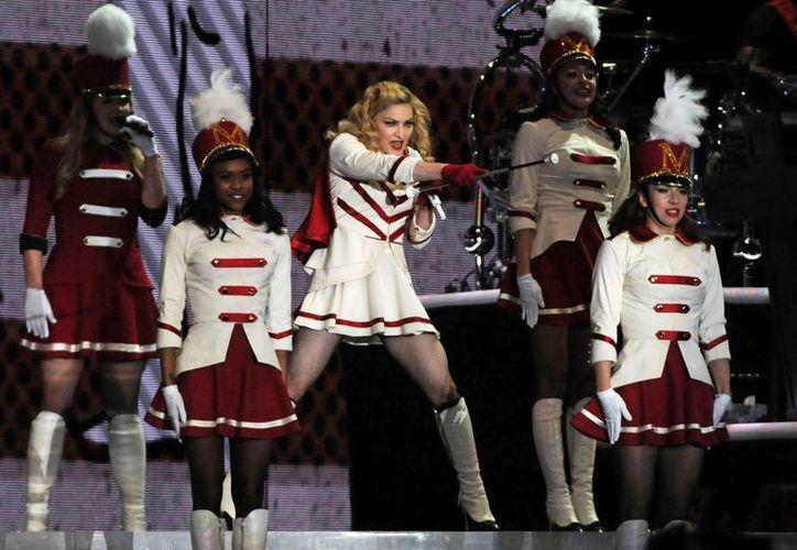 El espectáculo sin precedente brindado por Madonna en Colombia comenzó al filo de la medianoche. (Agencias)