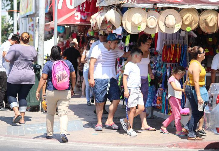 Promueven empresarios de Playa del Carmen convivencia familiar. (Foto: Adrián Barreto)