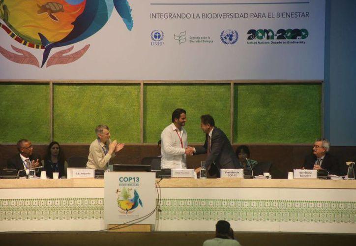 Se realizan conferencias alternas sobre biodiversidad. (Israel Leal/SIPSE)
