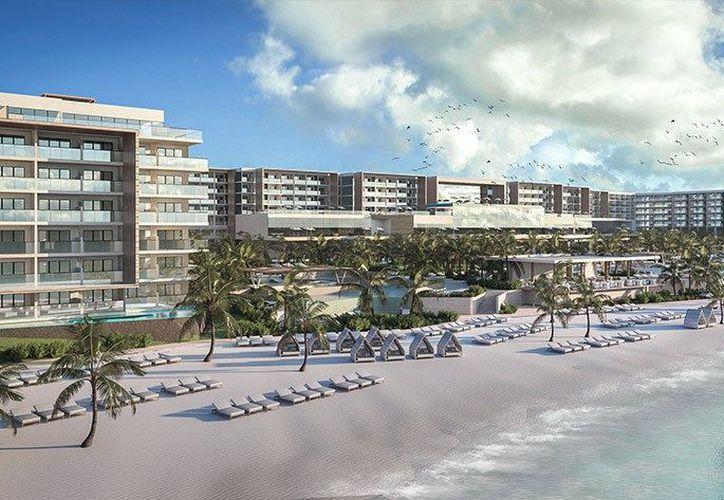 Este nuevo hotel tendrá teatro, pizzería, heladería entre otras amenidades. (Foto: Redacción/SIPSE).