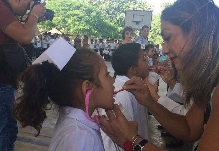 En el marco de la Semana Nacional de Salud Bucal se dará atención a centros escolares. (Luis Soto/SIPSE)