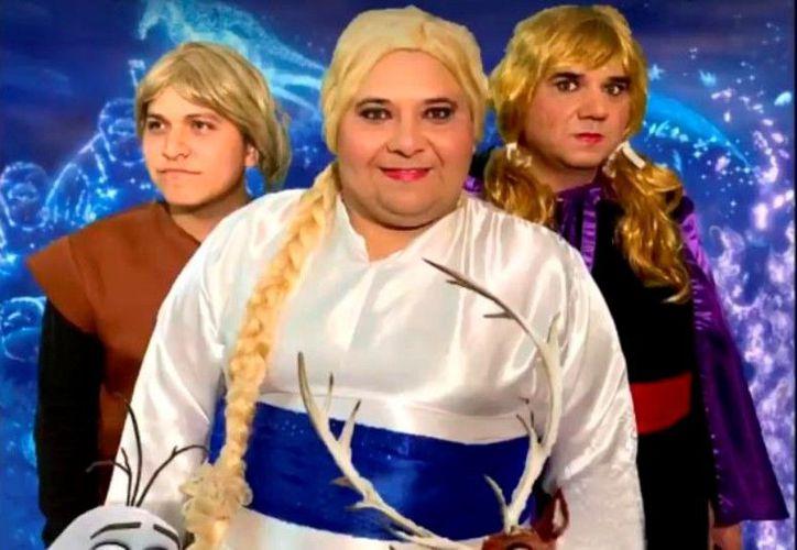Elsa Pote y Ana Wuac, las princesas de la obra. (Foto: captura de pantalla)