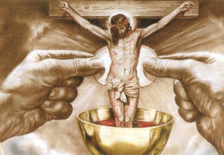 Toda la vida cristiana está ligada al misterio de la Sagrada Eucaristía. (lazarohades.com)