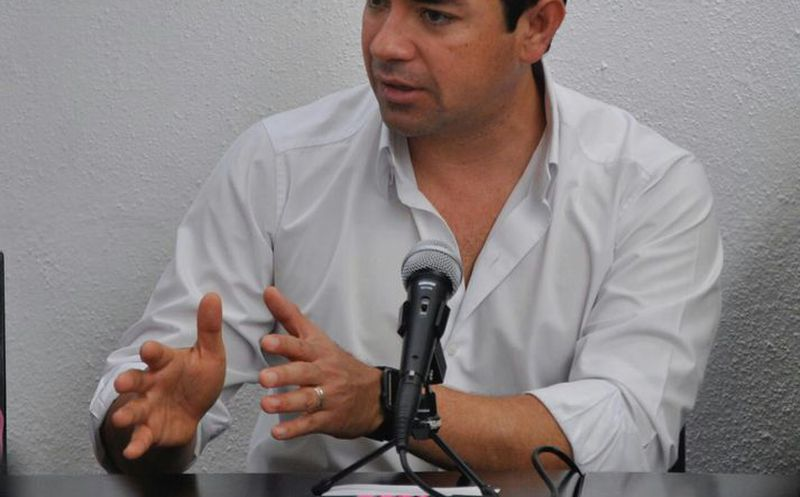 José Luis Toledo Medina, candidato para la presidencia de Benito Juárez. (Redacción/SIPSE)