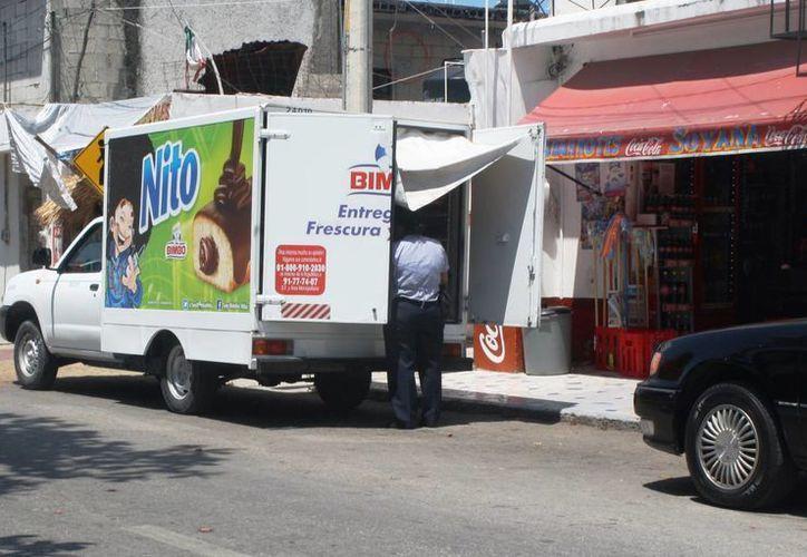 Los comercios que operan lejos de la costa reportan ventas dentro de los parámetros normales.  (Octavio Martínez/SIPSE)