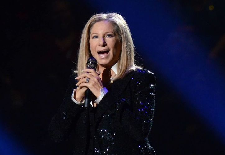 """Barbra, cantará en el """"show"""" después de 36 años de no hacerlo. (Agencias)"""