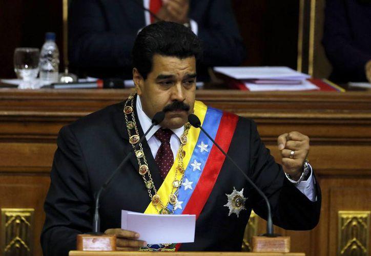 """En octubre Maduro autorizó la creación del viceministerio de la """"suprema felicidad social del pueblo"""" que forma parte del ministerio del Despacho de la Presidencia. (Agencias)"""