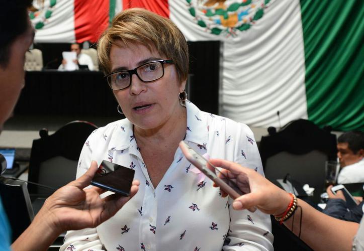 Laura Beristáin Navarrete mencionó que el partido no ha atendido temas prioritarios para la izquierda. (Redacción)