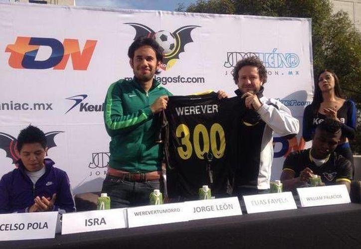 Werevertumorro portará el dorsal 300 de Murciélagos FC. (twitter.com/murcielagosfc)