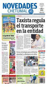 Taxista regula el transporte en la entidad