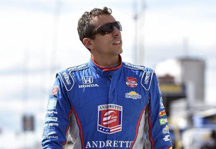 El piloto de la IndyCar, Justin Wilson, falleció después de caer en coma por la herida que le provocó una autoparte desprendida, este domingo en el circuito de Pocono. (AP)