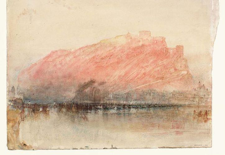 """Ehrenbreitstein"""" es un paisaje que Turner realizó durante lo que es considerado su mejor momento artístico. (Vanguardia)"""